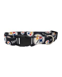 Pittsburgh Steelers Two Sided Team Pet Collar