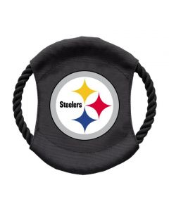 Pittsburgh Steelers Team Frisbee Pet Tug Toy