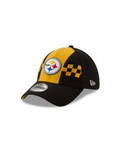 Pittsburgh Steelers Men's New Era 39THIRTY 2019 Draft Hat