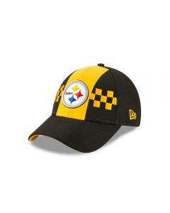Pittsburgh Steelers Men's New Era 9FORTY City Flag Hat
