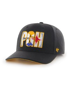 Pittsburgh Steelers '47 MVP DP Crop Shadow Hat