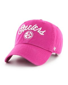 Pittsburgh Steelers '47 Women's Melody Orchid CLEAN UP Hat