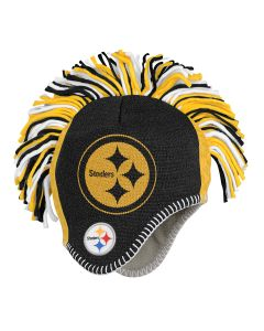 Pittsburgh Steelers Toddler Mohawk Fleece Lined Knit Hat