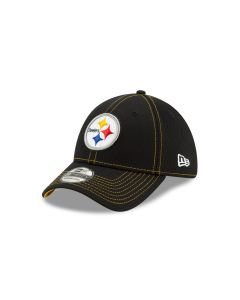 Pittsburgh Steelers New Era 39THIRTY 2019 Sideline Road Hat