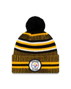 Pittsburgh Steelers Youth New Era 2019 Sideline Sport Knit Hat