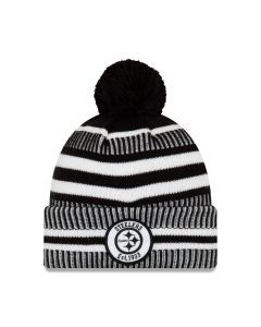 Pittsburgh Steelers New Era Sport Black Knit Hat