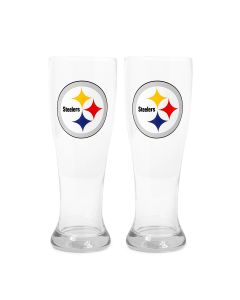 Pittsburgh Steelers 16oz. Pilsner Glass 2 Pack