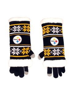 Pittsburgh Steelers 3 in 1 Gloves