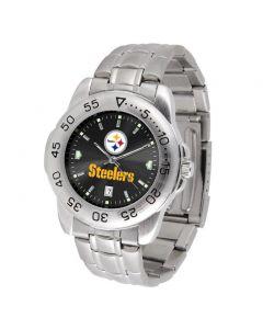 Pittsburgh Steelers Men's Sport Steel Watch