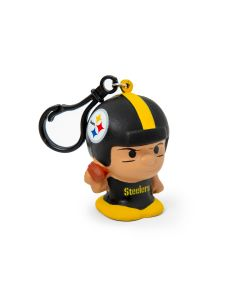 Pittsburgh Steelers Squeezy Mate w/ Carabiner Clip