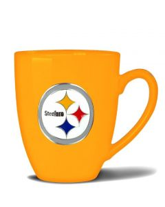 Pittsburgh Steelers 15 oz. Bistro Gold Mug