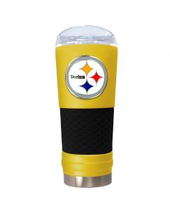 Pittsburgh Steelers 24 oz. The Draft Get A Grip Tumbler
