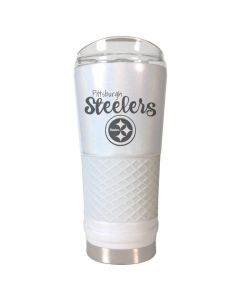 Pittsburgh Steelers 24 oz. The Draft Opal Diamond Tumbler