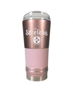 Pittsburgh Steelers 24 oz. The Draft Rose Gold Diamond Tumbler