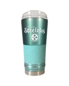 Pittsburgh Steelers 24 oz. The Draft Mint Diamond Tumbler