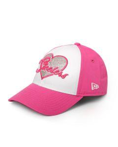 Pittsburgh Steelers New Era Girls' 9TWENTY Sparkly Fan Hat
