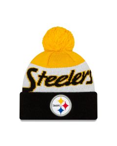 Pittsburgh Steelers New Era Script Knit Hat