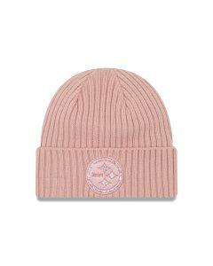Pittsburgh Steelers New Era Women's Glisten Rouge Knit Hat
