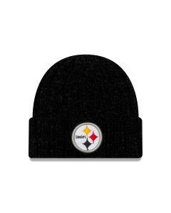 Pittsburgh Steelers New Era Women's Velour Knit Hat