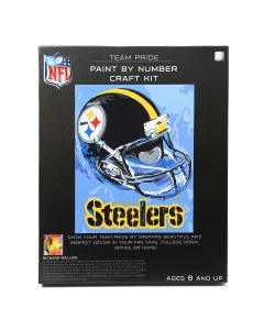 Pittsburgh Steelers Paint by Number Craft Kit