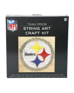 Pittsburgh Steelers String Art Craft Kit