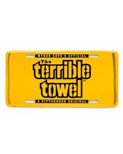 Pittsburgh Steelers The Terrible Towel License Plate