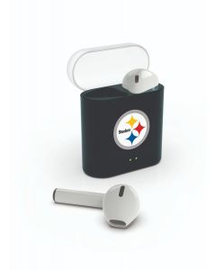 Pittsburgh Steelers Wireless Earbuds with Charging Case
