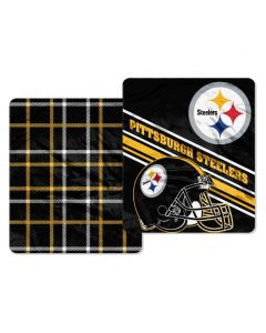 Pittsburgh Steelers 60x70 in. Home Field Cloud Throw 2-Sided Blanket