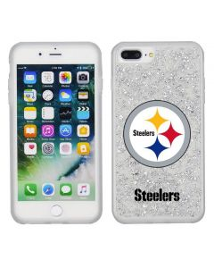 Pittsburgh Steelers Glitter iPhone PLUS Cell Phone Case