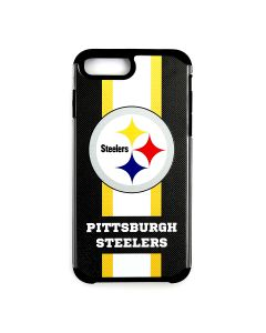 Pittsburgh Steelers Stripe Logo iPhone PLUS Cell Phone Case