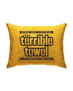 "Pittsburgh Steelers Terrible Towel 20""x26"" Pillow"