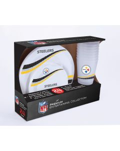 Pittsburgh Steelers Jersey Collection Dinnerware Set