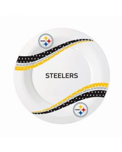 Pittsburgh Steelers Round Jersey Collection 7 inch Plates - 8 count