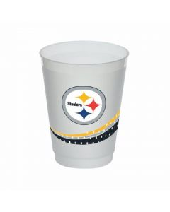 Pittsburgh Steelers 16oz. Frosted Jersey Collection Cups - 8ct