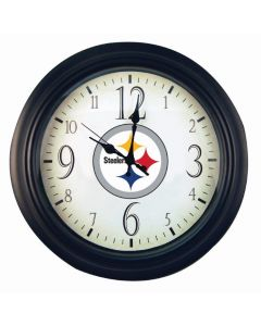 Pittsburgh Steelers 14-inch Round Logo Wall Clock