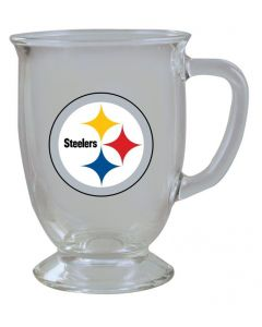 Pittsburgh Steelers 16 oz. Kona Glass Mug