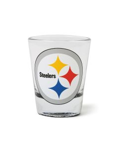 Pittsburgh Steelers Highlight Bottom Shot Glass