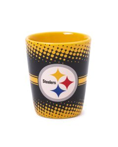 Pittsburgh Steelers Ceramic Dotted Shot Glass