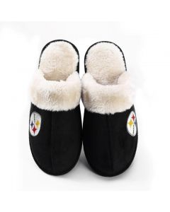 Pittsburgh Steelers Ladies' Mule Slides