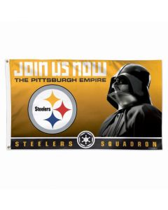 Pittsburgh Steelers Star Wars Squadron 3' x 5' Flag
