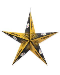 Pittsburgh Steelers Paper Star Lantern