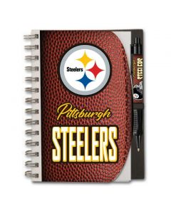Pittsburgh Steelers Hardcover Notebook w/ Grip Pen Set