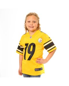 JuJu Smith-Schuster #19 Youth Nike Replica Inverted Color Rush Jersey