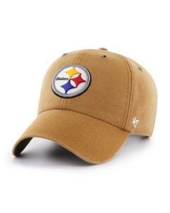 Pittsburgh Steelers '47 Carhartt CLEAN UP Brown Hat
