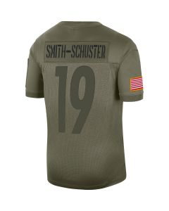 JuJu Smith-Schuster #19 Nike Men's Limited Salute to Service Jersey