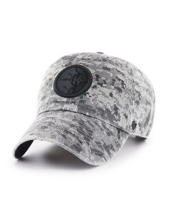 Pittsburgh Steelers '47 Phalanx Digi Camo Grey CLEAN UP Hat