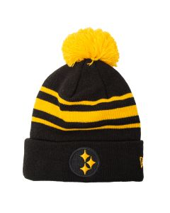 Pittsburgh Steelers New Era Color Rush Elements Knit Hat