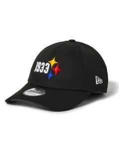 Pittsburgh Steelers Men's New Era 9FORTY 1933 Elements Hat