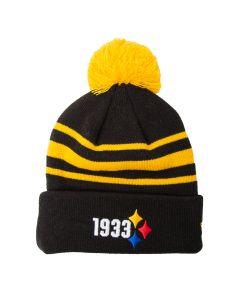 Pittsburgh Steelers New Era 1933 Elements Knit Hat