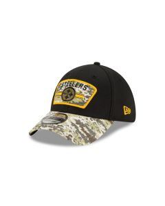 Pittsburgh Steelers New Era Salute to Service (STS) 2021 39THIRTY Sideline Hat